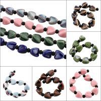 Glasierte Porzellan Perlen, Dreieck, glaciert, keine, 13x14mm, Bohrung:ca. 3mm, 10PCs/Strang, 10SträngeStrang/Tasche, verkauft per ca. 7.5 ZollInch Strang