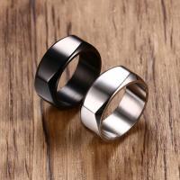 Edelstahl Herren-Fingerring, plattiert, verschiedene Größen vorhanden & für den Menschen, keine, 8mm, verkauft von PC