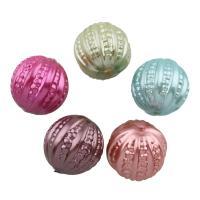 Acryl Perle, rund, keine, 18mm, Bohrung:ca. 1mm, ca. 173PCs/Tasche, verkauft von Tasche