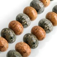 Mehrfarbenachat Perle, Rad, 13x18x18mm, Bohrung:ca. 1.2mm, ca. 32PCs/Strang, verkauft per ca. 16 ZollInch Strang