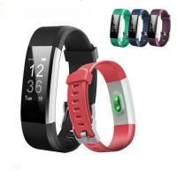 Intelligente Uhrtelefon, Silikon, mit Zinklegierung, Platinfarbe platiniert, Herzfrequenzmessung & Anrufanzeige & pedometer 3D & calorie & Multifunktions & unisex & Touch-screen & LED, keine, 20x12.8mm, Länge:ca. 9.6 ZollInch, verkauft von PC