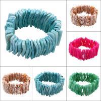 Natürliche Süßwasser Muschel Perlen, keine, 34x10mm, Länge:ca. 6 ZollInch, 10PCs/Tasche, verkauft von Tasche