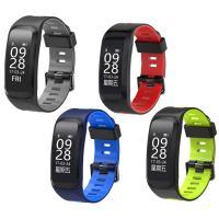 Intelligente Uhrtelefon, Silikon, mit Kunststoff & Zinklegierung, plattiert, Herzfrequenzmessung & Anrufanzeige & pedometer 3D & calorie & Multifunktions & unisex & einstellbar & Touch-screen & LED & wasserdicht, keine, 46x22x11mm, Länge:ca. 8.7 ZollInch, verkauft von PC