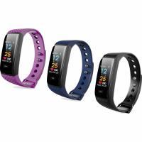 Intelligente Uhrtelefon, Silikon, mit Kunststoff & Zinklegierung, plattiert, Herzfrequenzmessung & Anrufanzeige & abnehmbare & pedometer 3D & calorie & Multifunktions & unisex & einstellbar & LED & wasserdicht, keine, 20x11.2mm, Länge:ca. 9.2 ZollInch, verkauft von PC