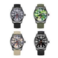 MINIFOCUS® Uhrenkollektion, Nylon, mit Glas & Edelstahl & Zinklegierung, einstellbar & für den Menschen, keine, 41x12mm, Länge:ca. 10 ZollInch, verkauft von PC