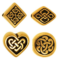 Zinc Alloy Celtic Beads