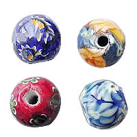 Italian Millefiori Glass Beads