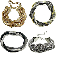 Iron Braided Snake Chain Bracelets